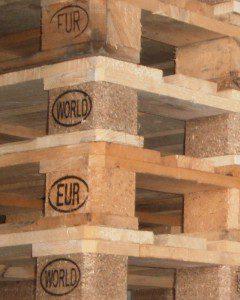 WORLD Paletten gegen EPAL/EUR Paletten tauschbar