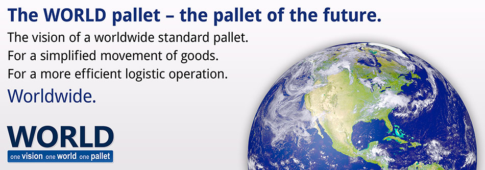 The WORLD pallet – the pallet of the future.