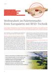 """""""Erste Europalette mit RFID - Technik"""""""