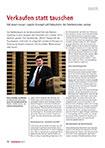 """""""Verkaufen statt tauschen – Mit einem neuen Logistik-Konzept will Falkenhahn die Palettenkosten senken"""""""