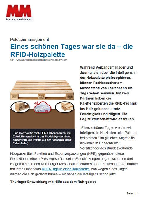 Falkenhahn und die world palette in der presse world for Spiegel eines tages