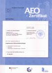 AEO Zertifikat