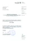 Certificat Traitement ISPM15