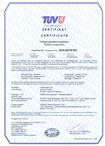 TÜV Thüringen Certificate