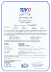 TÜV Thüringen Сертификат