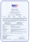 TÜV Thüringen Zertifikat